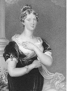 Princess Charlotte of Wales, during her pregnancy