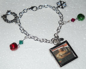 A Twelfth Knight Tale silver-plated Christmas bracelet