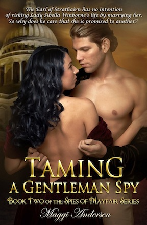 Cover_ TAMING A GENTLEMAN SPY