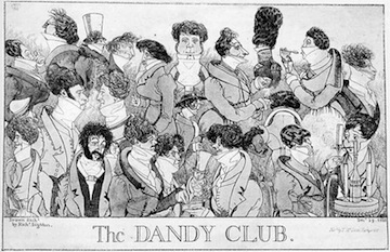 Watier's: nicknamed the Dandy Club by Lord Byron