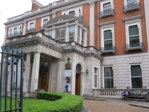 Hertford House, known as the Wallace Collection, on Manchester Square