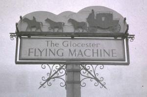 Brockworth - Flying Machine Sign
