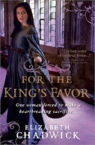 For the Kings Favor by Elizabeth Chadwick - Cover