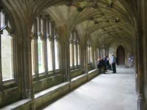 Anybody recognize the cloisters from a famous movie?