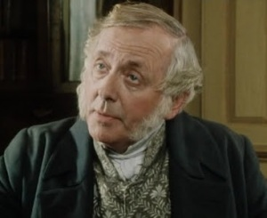 Perhaps Mirabel looks like Mr. Bennet from P&P?