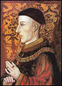 Henry V: not in a proper mood to be fêted