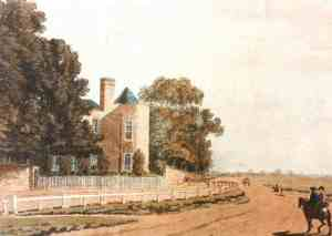 Montague House, residence of Queen Caroline