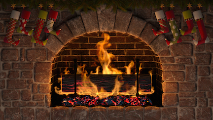 fireplace small