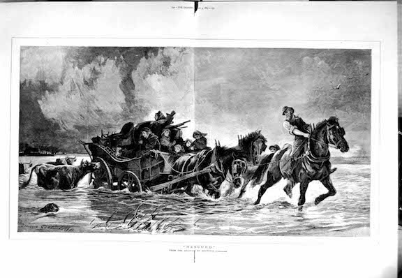 carriage flood 1883