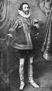Sir Everard Digby, knighted by the king three years before he plotted to kill him