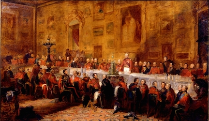 Waterloo Banquet by William Salter, 1836, Apsley House