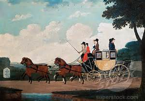 Mail coach, London to Birmingham, 18th century