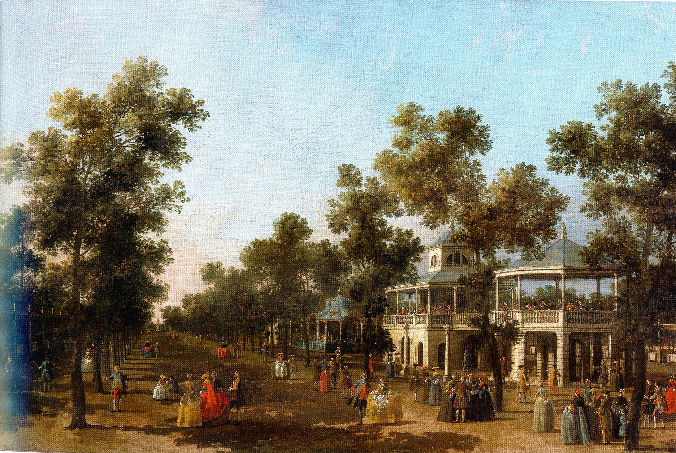 Vauxhall Gardens: The Organ, the Turkish Tent, and the Rotunda ...