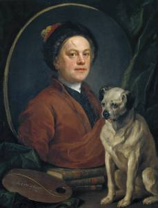 The Painter and his Pug 1745 William Hogarth 1697-1764 Purchased 1824 http://www.tate.org.uk/art/work/N00112