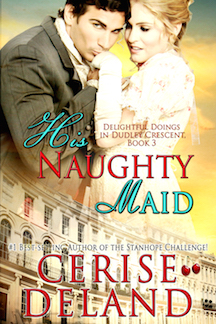 His Naughty Maid by Cerise DeLand copy