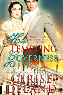 His Tempting Governess by Cerise DeLand copy