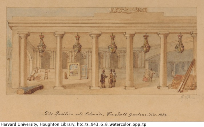 pavilion and colonade