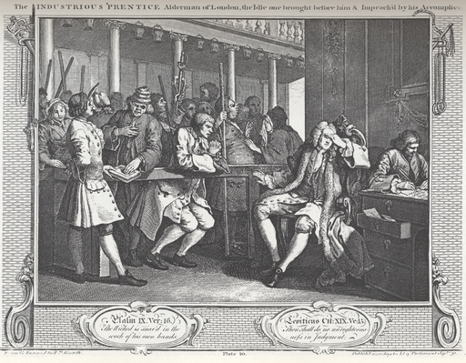 william_hogarth_-_industry_and_idleness_plate_10_the_industrious_prentice_alderman_of_london_the_idle_on_brought_before_him__impreachd_by_his_accomplice