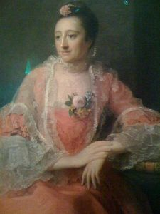 Portrait of Elizabeth_Montagu (1718-1800) by Allan Ramsay (1713-1784) in 1762