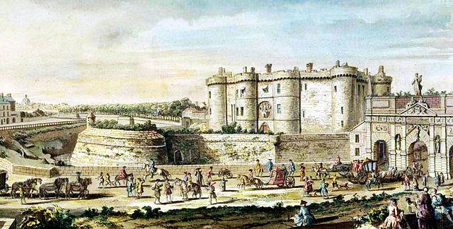 The Bastille, 1715