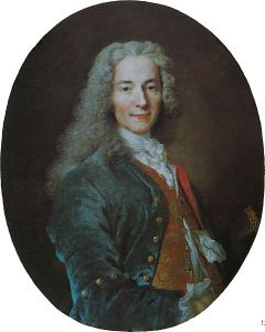 François-Marie Arouet, otherwise known as Voltaire, 1724-5