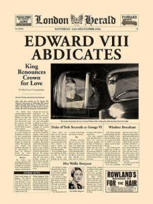 London Herald (Edward VIII's Abdicates)