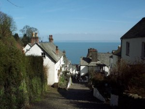 Clovelly main street