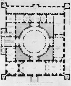 Robert Adam's plan for Syon House