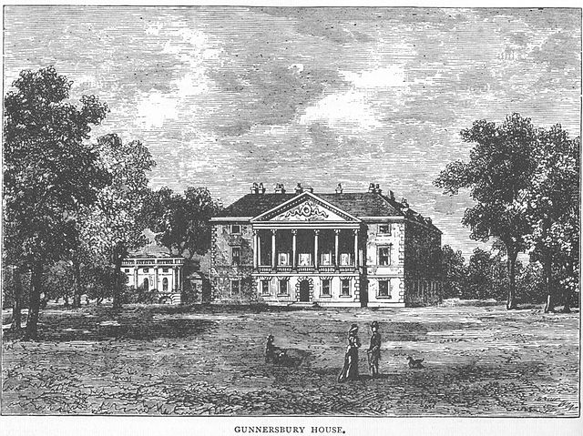 Gunnersbury House, near Acton (home of the Rothschild family)