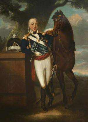 Craik; Colonel Thomas Peter Legh (1753-1797) of Lyme Park; Duke of Lancaster's Own Yeomanry Museum; http://www.artuk.org/artworks/colonel-thomas-peter-legh-17531797-of-lyme-park-150355