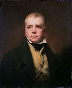 Sir Walter Scott, Scottish historical novelist, poet, and playwright