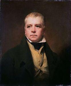 Sir Walter Scott, Scottish historical novelist, poet, and playwright