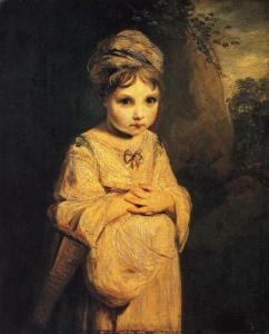 The Strawberry Girl, Joshua Reynolds