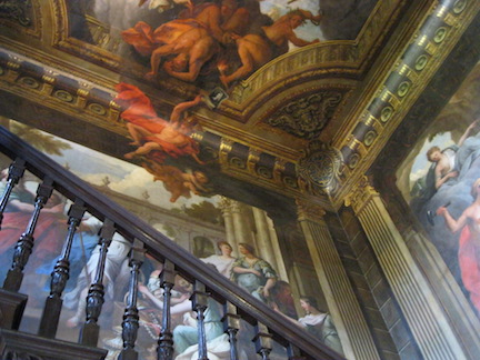 Staircase paintings by Sir James Thornhill