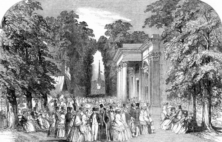 Royal Well Walk, Pump Room, 1850