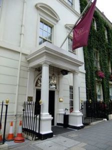 Crockford's today is an exclusive casino in Mayfair