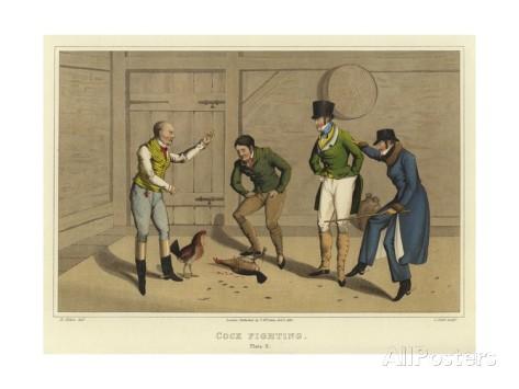 Cock-fighting, Henry Thomas Aiken