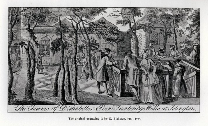 Islington Spa, 1749