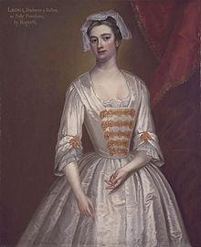 Lavania Fenton as Polly Peachum in The Beggar's Opera