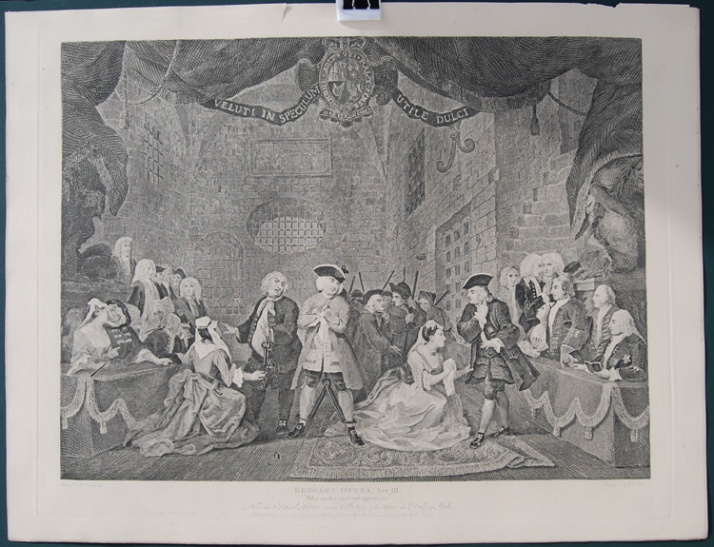 William Hogarth, Act III, Beggar's Opera